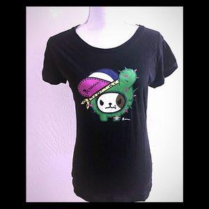 Tokidoki Cactus Dog T-shirt Used